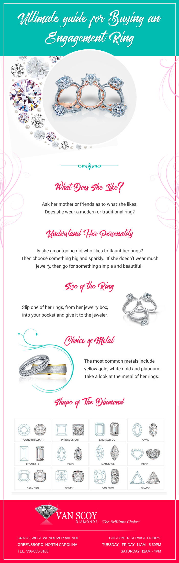Ultimate Guide for Buying an Engagement Ring