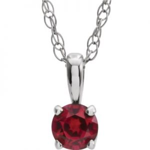 Chatham Created Ruby July Birthstone - Van Scoy Diamonds