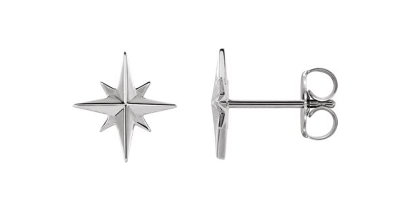 Platinum Studs - Van Scoy Diamonds