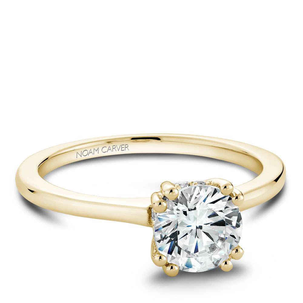 Noam Carver Yellow Gold Engagement Ring
