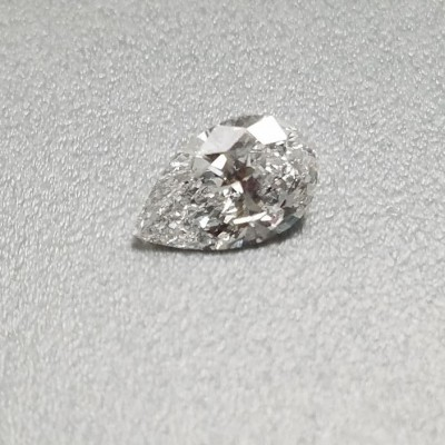 D color, SI2 clarity Pear 0.92 -Carat Diamond