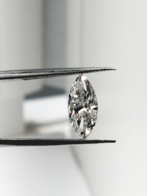 G color, I1 clarity Marquise 0.89 -Carat Diamond