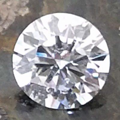 E color, I1 clarity Round 1.02 -Carat Diamond