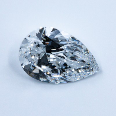 F color, SI1 clarity Pear 1.01 -Carat Diamond