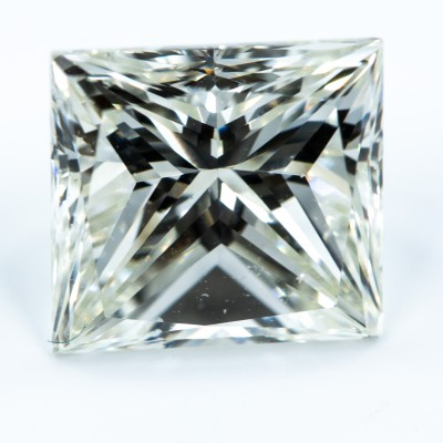 H color, SI1 clarity Princess 1.05 -Carat Diamond