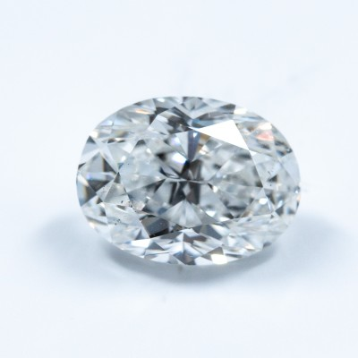 F color, SI1 clarity Oval 1.01 -Carat Diamond