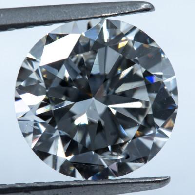 H color, SI2 clarity Round 1.44 -Carat Diamond