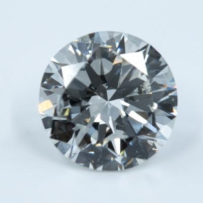 J color, SI2 clarity Round 1 -Carat Diamond