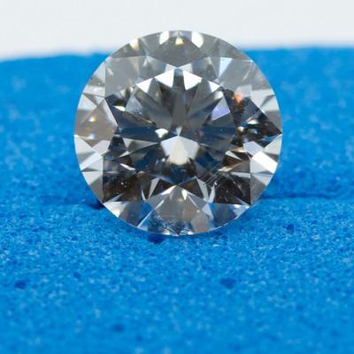 E color, SI2 clarity Round 1.06 -Carat Diamond