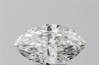 G color, VS2 clarity Marquise 1.51 -Carat Diamond