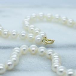 7.5MM Akoya Pearls (24