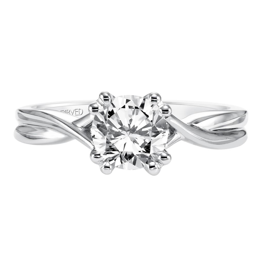 Solitude Engagement Ring 14Kwg