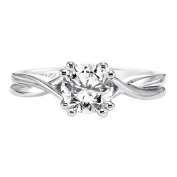 Solitude Engagement Ring 14Kwg