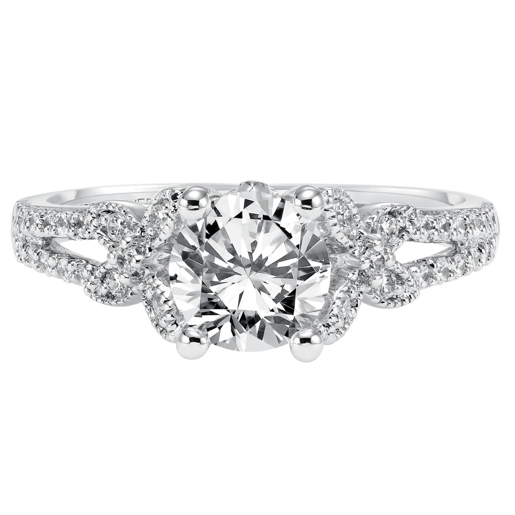 Brielle Engagement Ring 14Kwg