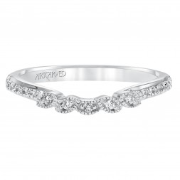 Brielle Diamond Band 14Kwg