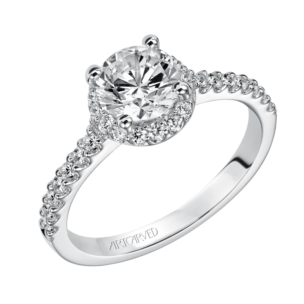 Skylar Diamond  Engagement  Ring
