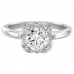 Adele Engagement Ring 14Kw