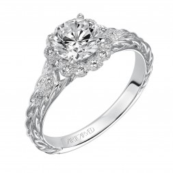 Lila Diamond  Engagement  Ring