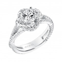 Ivy Diamond  Engagement  Ring