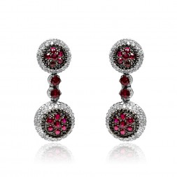 MOUAWAD 18W EAR RUBY/D3.00