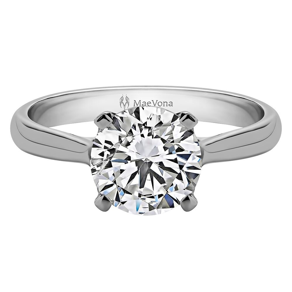 WESTRAY ROUND SOLITAIRE WITH 0.75ct H-SI ROUND CENTER