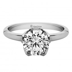 BLUEBELL ROUND SOLITAIRE WITH 0.40ct H-SI CENTER