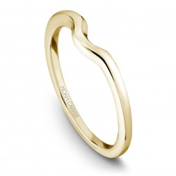 Noam Carver Yellow Gold Matchcing Band