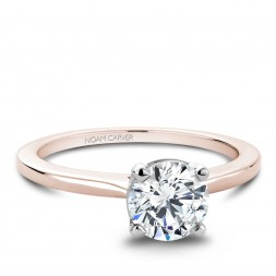 Noam Carver Rose Gold Matching Band