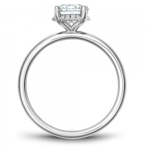 Noam Carver White Gold Engagement Ring With 16 Diamonds
