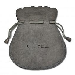 Stainless Steel Polished 15.5mm Diameter Hoop Earrings