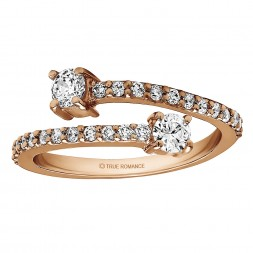 FA221 - Diamond Two Stone Ring