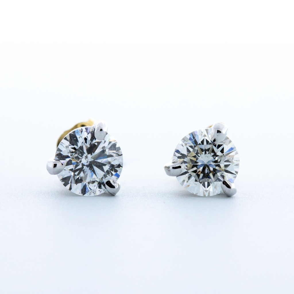 Round Diamond Studs (1.00ctw)
