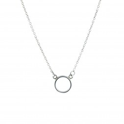 Petite Circle Necklace