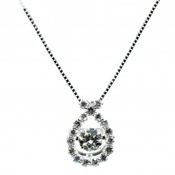 Rythm of Love Diamond Necklace (.50ctw)