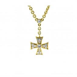 Designer Diamond Cross (.95ctw)