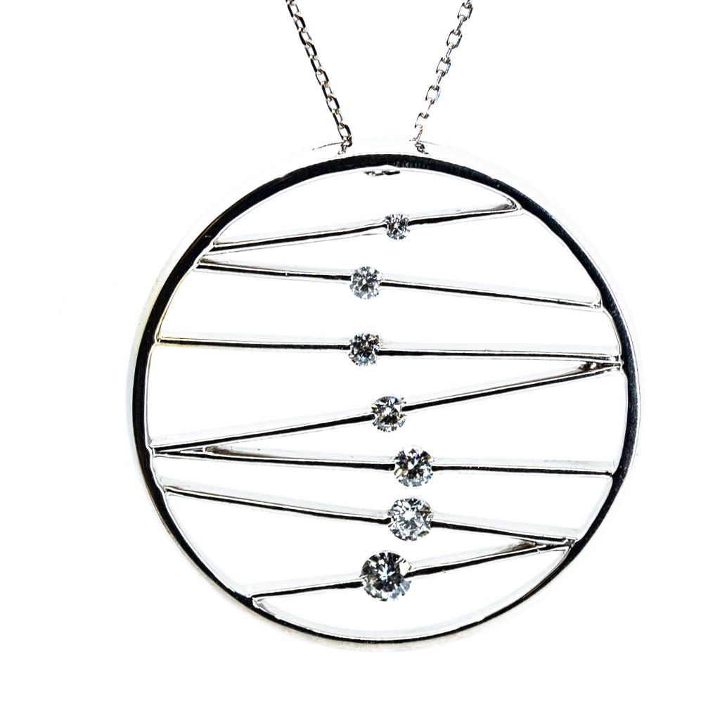 Diamond Journey Necklace (.50 ctw)