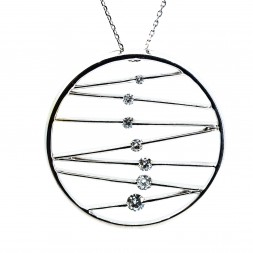Diamond Journey Necklace (.50 ctw)