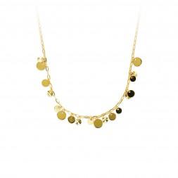 Tri-Color Gold Necklace