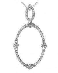 Pemberley Diamond Pendant