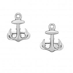 Silver  Anchor Sailing Cufflinks