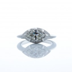 East West Marquise Diamond RIng (.97ctw)