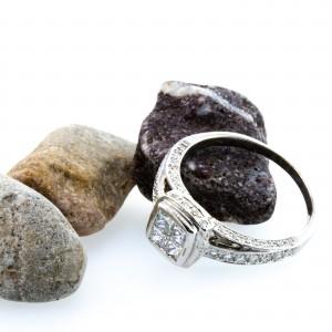 Princess Cut Engagement Ring (.80ctw.)
