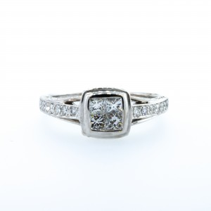 Princess Cut Engagement Ring (.80ctw.)