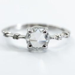 Vintage Moissanite Diamond Ring(1.16ct)