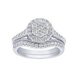 Complete Diamond Wedding Set
