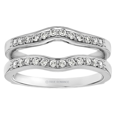 wedding ring guard solitaire ring guard enhancer rg104 f 9957