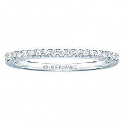 Rm1301ps-14k White Gold Halo Semi Mount Engagement Ring