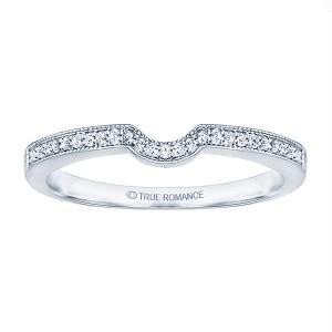 Rm1319e-14k White Gold Emerald Cut Halo Diamond Vintage Semi Mount Engagement Ring