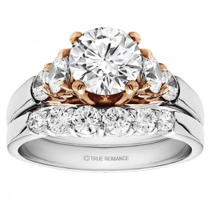 Round Cut Center Diamond Classic Engagement Ring