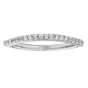 Round Cut Diamond Double Halo Infinity Semi Mount Engagement Ring